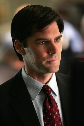 caption: CRIMINAL MINDS stars Thomas Gibson as one of the members of an elite squad of FBI profilers who analyze the Country's most twisted, criminal minds, anticipating their next move before they strike again. The suspense thriller premieres (Wednesday, 9:00-10:00 PM ET/PT) this fall on the CBS Television Network.  Photo: Michael Courtney/Touchstone ©2005 Touchstone Television. All Rights Reserved. copyright: